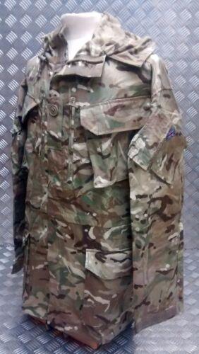 Tutte Camo British Genuine le o grembiule Mtp antivento Army Multi cappuccio misure Dpm con AITqP