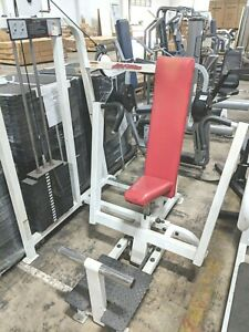 life fitness pro 1 chest press commercial weight stack gym