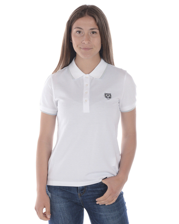 Polo Kenzo Shirt Coton Femme white 981 2TO749 1 TL. M FAIRE OFFRE