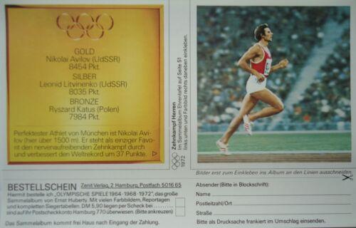Imagen 51 Huberty Olympia 1972 Gold diez lucha nikolai avilov URSS