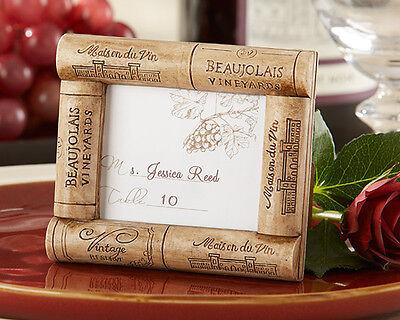 Segnaposto Matrimonio Vino.Bomboniera Cornice Tappi Vino Tema Idea Matrimonio Segnaposto