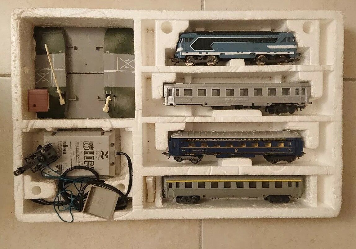 Coffret train HO LIMA  Inter Europe