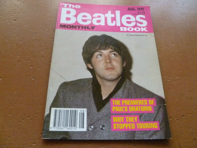 THE BEATLES BOOK MONTHLY Magazine No.184 August 1991
