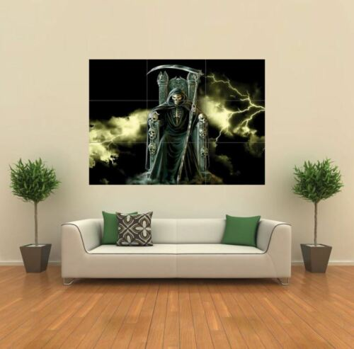 GRIM REAPER GOTHIC  NEW GIANT POSTER WALL ART PRINT PICTURE X1352