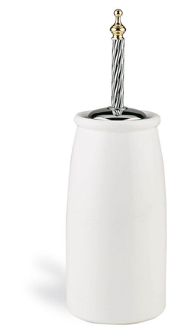 WC-Bürstengarnitur Juno freistehend Toilettenbürstenhalter Nostalgie klassisch