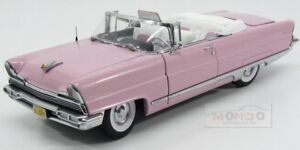 Lincoln Premiere Convertible Open 1956 Pink Sunstar 1:18 Ss4656