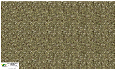 Aufkleber 1//35 Tarnfarbe UK DPW Multicam Muster FFSMC Productions
