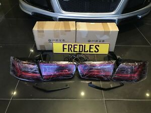 Details about AUDI A6 S6 FACELIFT LED TAIL LIGHT REAR LAMP
