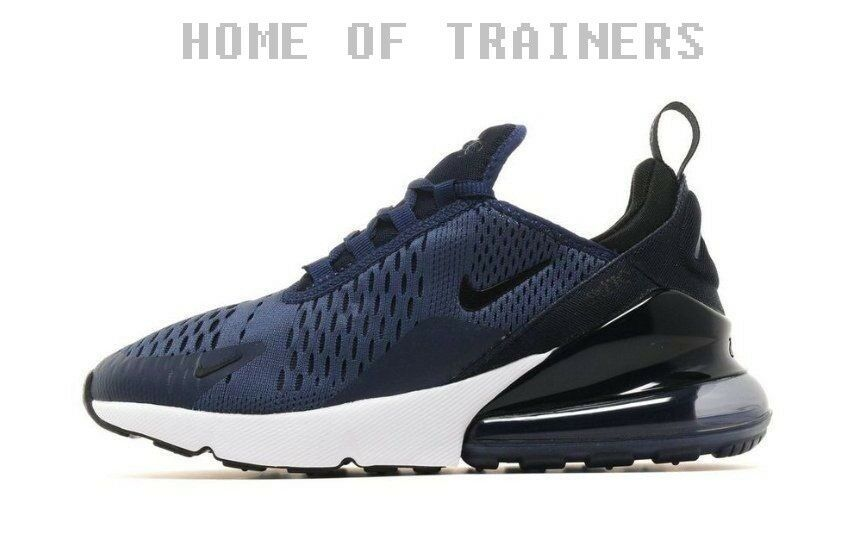 Nike Nike Nike Air Max 270 Navy Blue Unisex Trainers All Sizes f34b20