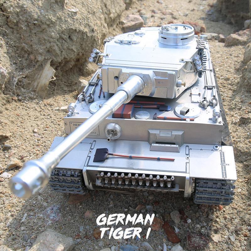 Henglungo RTR RC TANK  3818 modellololo 1 16 aggiornato Pro FULL METAL Geruomo Tiger I  vieni a scegliere il tuo stile sportivo