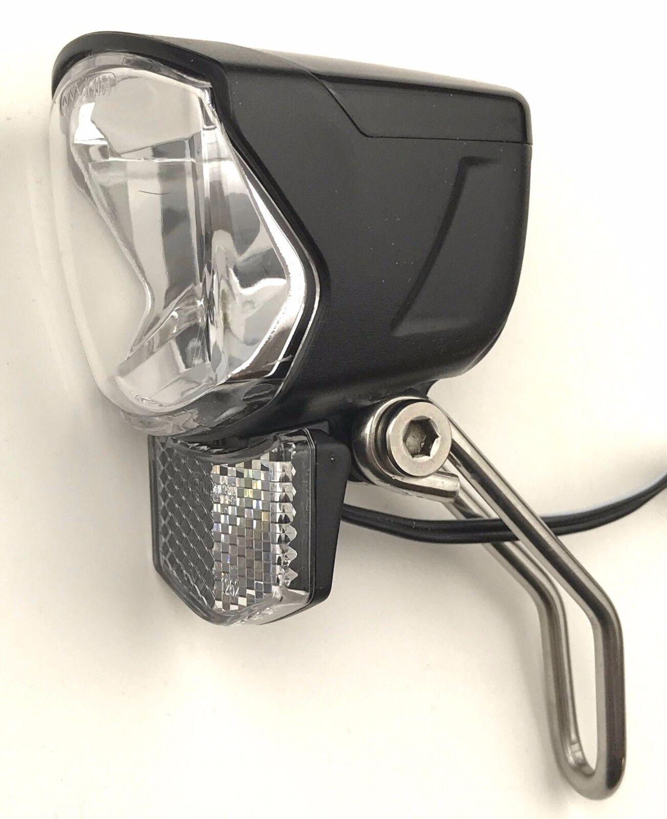 CONTEC LED-Scheinwerfer  HL-3001 XO E+  für E-Bike 6-48 V-DC mit 70 Lux