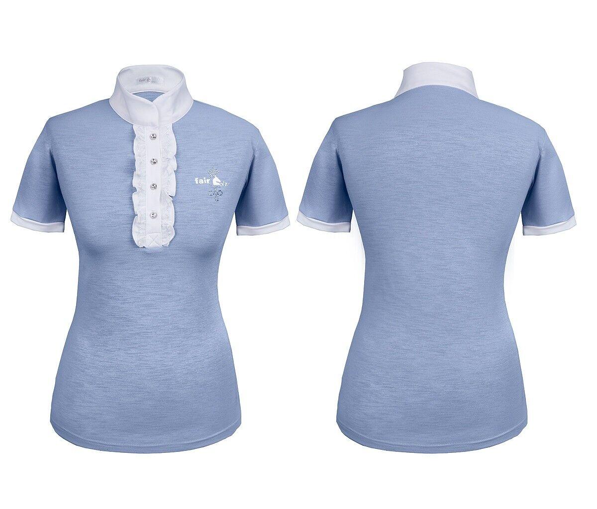 Fair Jugar  torneo azulsa torneo camisa show camisa Ulla-Pale azul novedad  barato en alta calidad