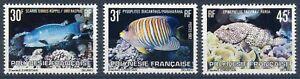 franz-Polynesien-MiNr-343-45-postfrisch-MNH-Fische-Fis432