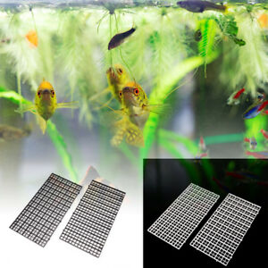 2-pcs-grid-divider-tray-egg-crate-louvre-aquarium-fish-tank-bottom-isolate-Kn