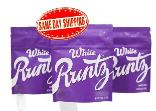 25ct NEW White Rntz Zipper empty bags for cookies candy snacks 5in x 4in