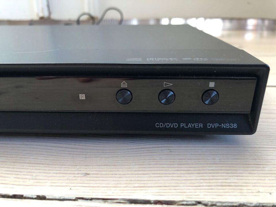Dvd-afspiller, Sony, DVP-NS38