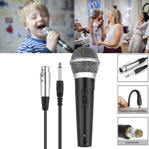 Unidirectional-Wired-Handheld-Mic-Dynamic-Microphone-Vocal-Singing-with-XLR-3Pin