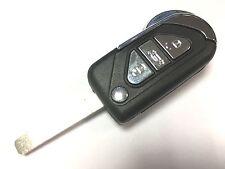 Reemplazo 3 Botón Voltear Carcasa de llave para citroen DS3 Remoto Clave