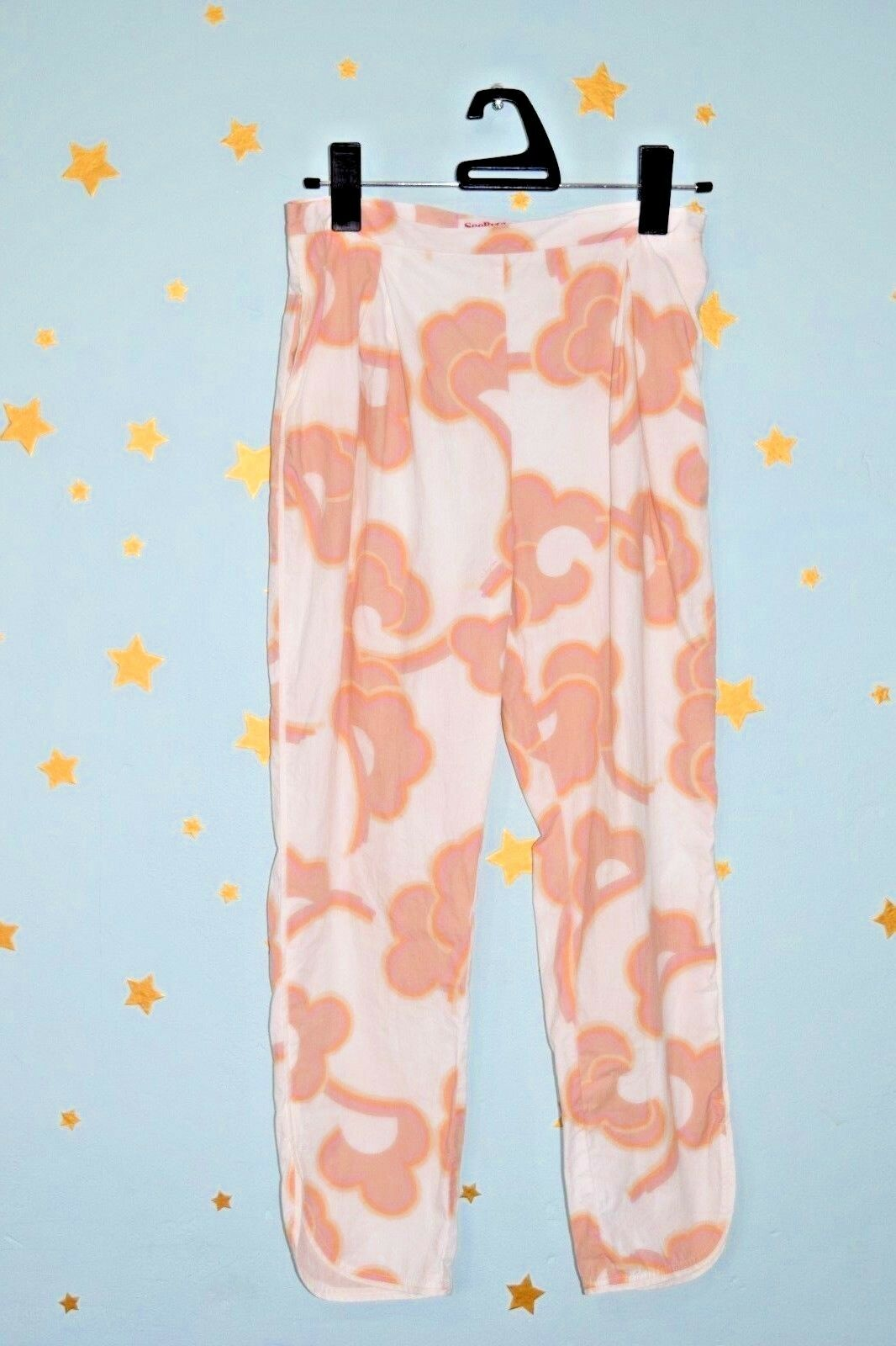 See By Chloe   flower print cropped trousers