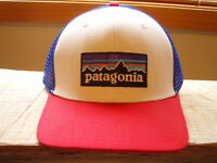 Patagonia P6 White Trucker Hat