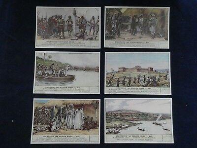 Adaptable Liebig Chromo - Geschiedenis Van Belgisch Kongo (1e Deel) - 1952 Ideaal Cadeau Voor Alle Gelegenheden