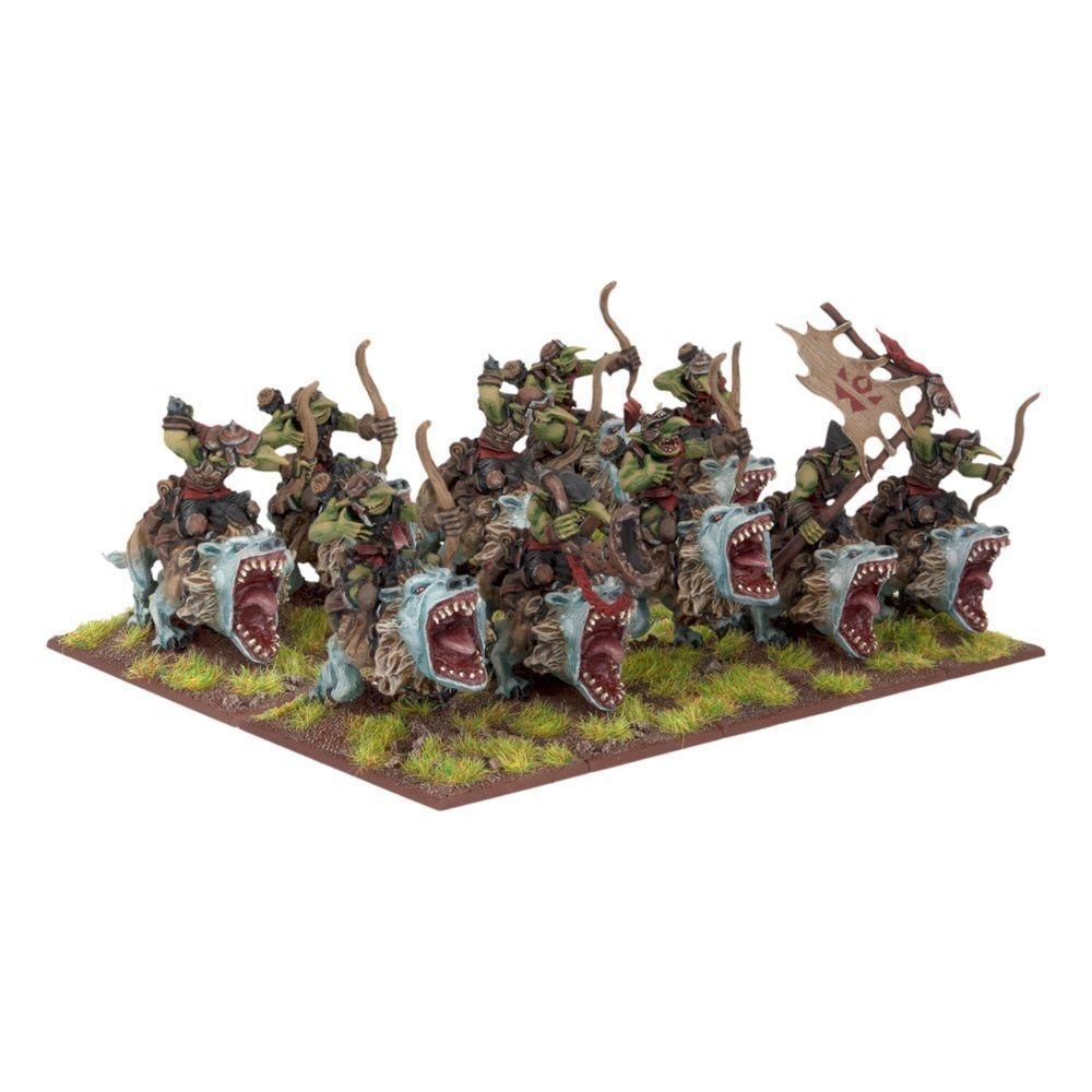 10x Goblin Fleabag Sniffs (Archers) - Kings of War Goblins