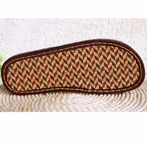 Men Women Slipper Soles Shoe Making Woven Sew On Replacement Repair DIY 36-47