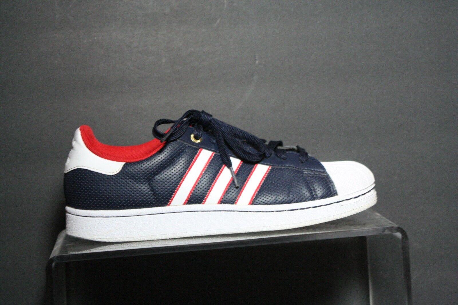 Adidas Superstar 2 USA Sneaker 2014 Multi Red White bluee Men 8 Athletic Hip Rare