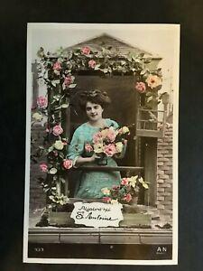 Carte Postale Ancienne Animée - LA SAINT ANTOINE   eBay