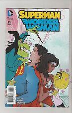 DC COMICS SUPERMAN WONDER WOMAN #23 JANUARY 2016 LOONEY TUNES VARIANT NM