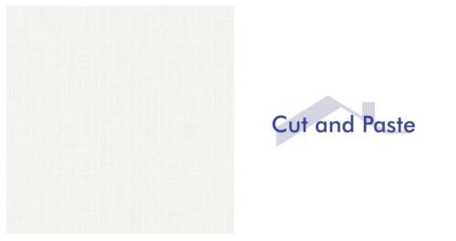 FD41950 échantillon seulement Fine Decor Isobelle Texure soufflé Blanc Qualité Papier Peint