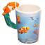 thumbnail 32 - Animal Shaped Handle Ceramic Mug Tea Coffee Cup Novelty Gift Jungle Tropical