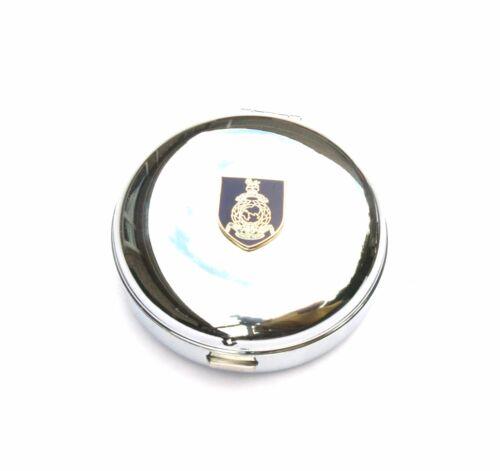 Royal Marines Travel Chrome Alarm Clock Ideal Army Gift BK21
