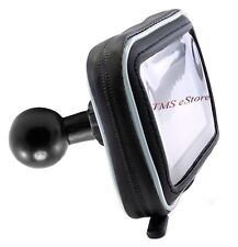 "GPS532 Water Resistant Case for Ram Mount 1"" Ball with adapter RAP or RAM B-201u"