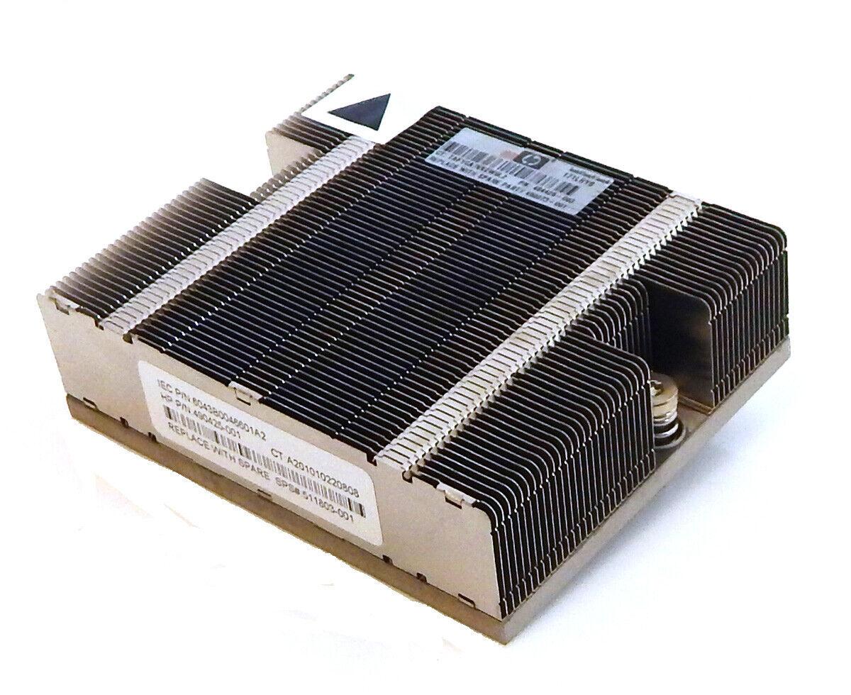 HP D2D2502i DL160G6 DL320G6 CPU Heatsink 511803-001 490425-001