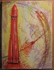 Russian Book Flying Model Air plane Craft Aviation Rocket Jet Engine Missile