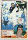 1983 Topps Gary Lavelle #791 Baseball Card