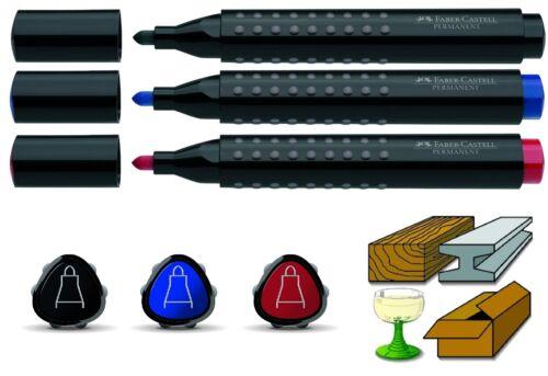Faber-Castell Permanentmarker GRIP 1504 round marker Weatherproof ink