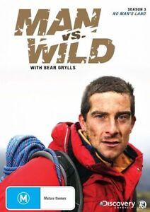 Man-Vs-Wild-No-Man-039-s-Land-Season-3-DVD-2009-2-Disc-Set