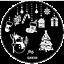 Christmas-Snow-Santa-Nail-Stamp-Nails-Art-Stamping-Plates-Reindeer-Mickey thumbnail 13