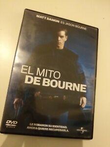 Dvd-EL-MITO-DE-BOURNE-CON-MATT-DAMON-es-jason-bourne