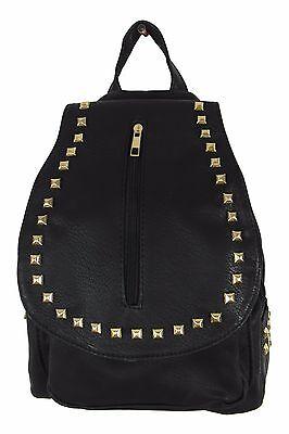 Rucksack SchwarzGold - stylish und besonders elegant - Daypack Backpack Tasche
