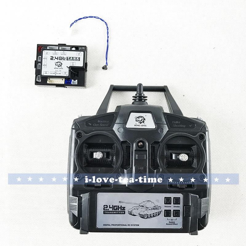 Henglong 1/16 RC TANK MODEL 4th 2.4Ghz controller Radio Ricevitore Scheda Principale