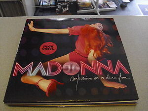 Madonna-Confessions-On-A-Dancefloor-2LP-LIMITED-EDITION-PINK-Vinyl