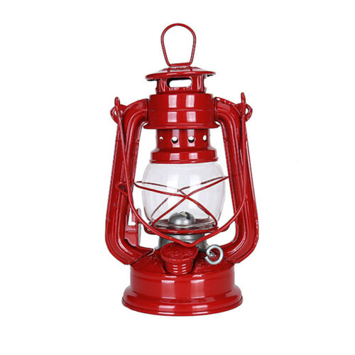 Retro Kerosene Lamp Lantern Oil Storm Hurricane Light Fuel Camping Outdoors NEW
