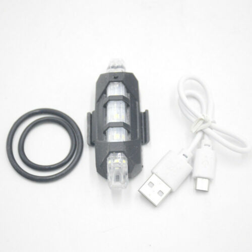 15000LM T6 LED MTB Bicycle Lights Bike Front+Rear Headlight USB Rechargeable