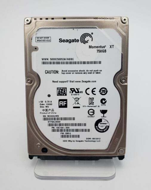 Seagate ST750LX003 750gb 7200rpm 32mb Sata 6gb//s Ncq Momentus Xt