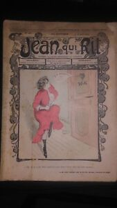 Rivista Jeans Che Rit N° 286 1906 Giornale Illustre che Appaiono Il Venerdì ABE