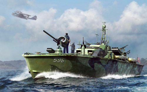 Merit 1 48 US Navy Elco 80' PT Boat Late