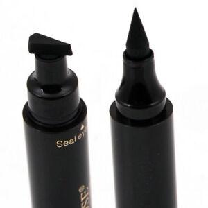 TIMBRO ALATA Eyeliner Trucco Impermeabile Premium Eye Liner Matita Liquido Nero un